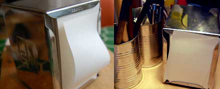 Paperholder on desk